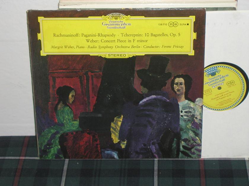 Fricsay/RSOB - Rachmaninoff Paganini DGG  TULIP German import
