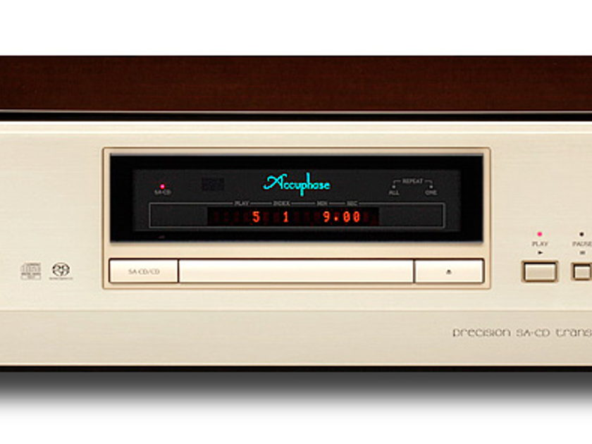 Accuphase DP-900 SA-CD Transport (New)