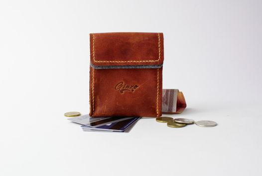 Карманный кошелек -POCKET- цвет Brown Vintage
