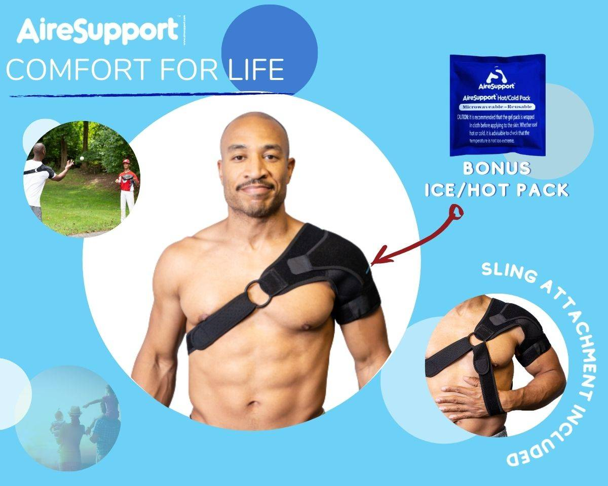 infographic showing hot cold pack and sling