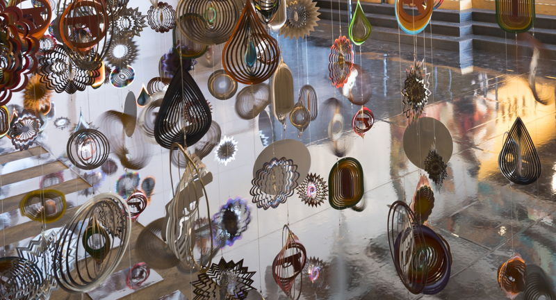 Nick Cave, Ruffin Distinguished Artist-in-Residence Exhibition Opening