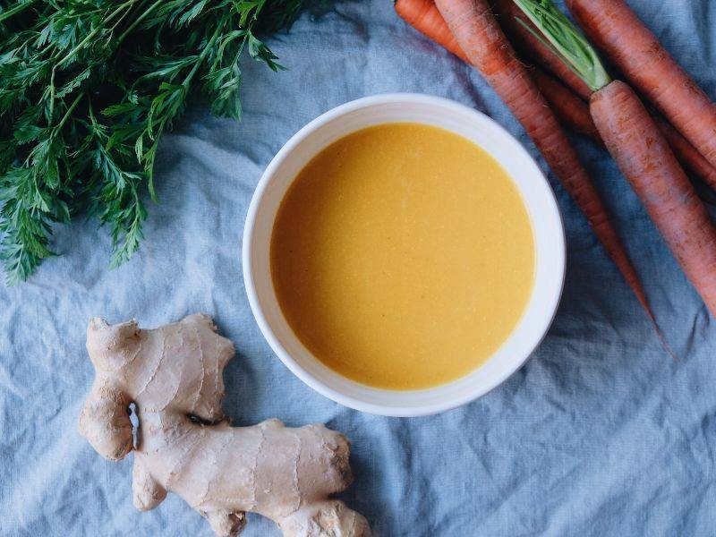 soupe à la courge et gingembre la boite du chef