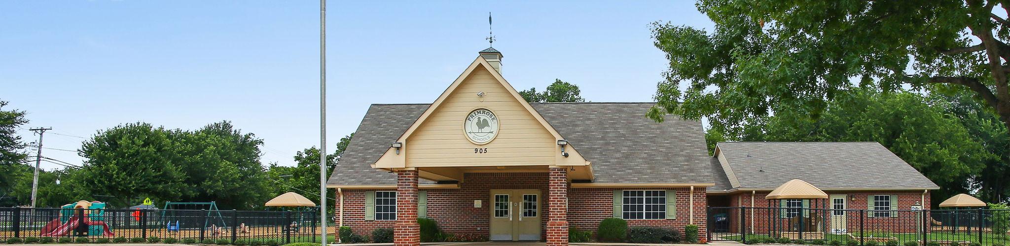 Exterior of a Primrose School of Keller