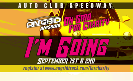 On Grid for Charity - ACS VIP parking - 9/1-2/18