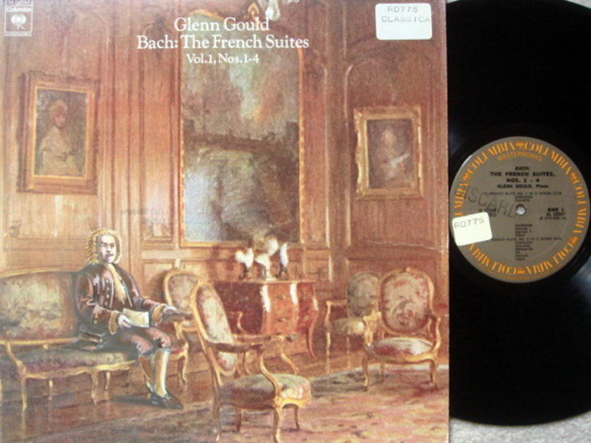 Columbia / GLENN GOULD, - Bach French Suites No.1-4, VG+!