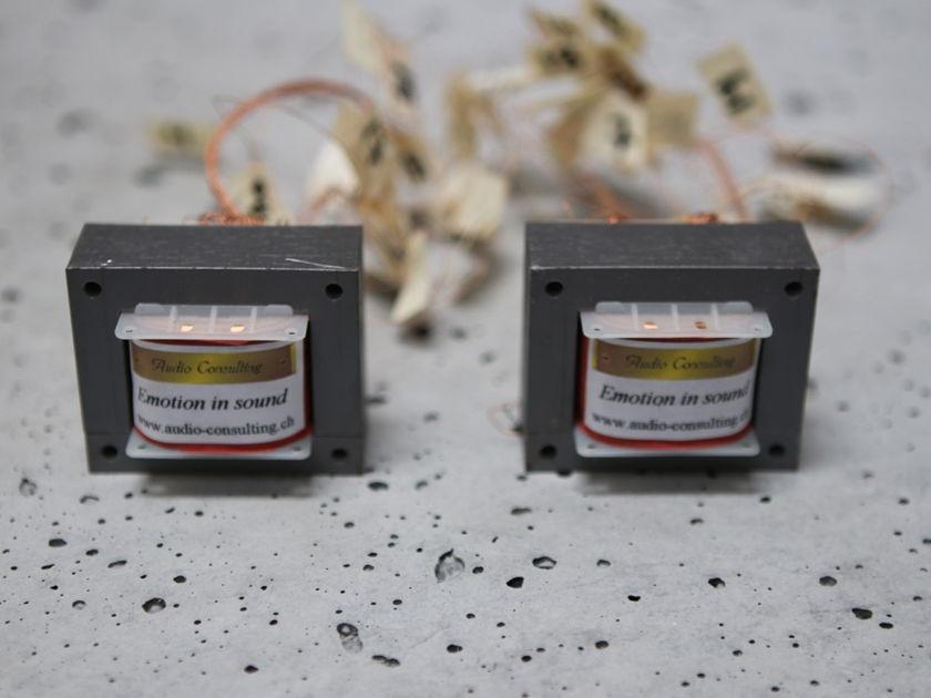 Audio Consulting of Switzerland Volume Control Transformers - Copper - One Pair