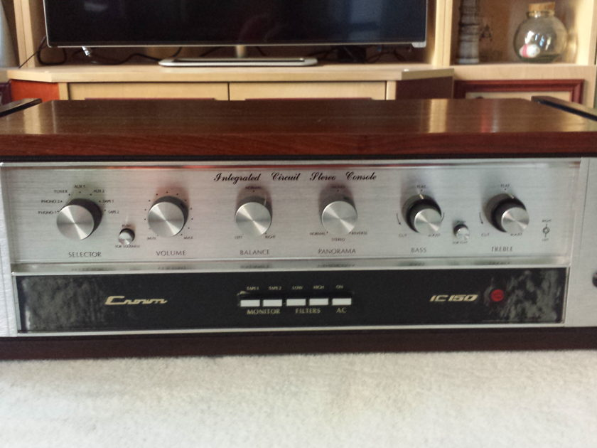 Crown International IC-150 Integrated Circuit Stereo Console