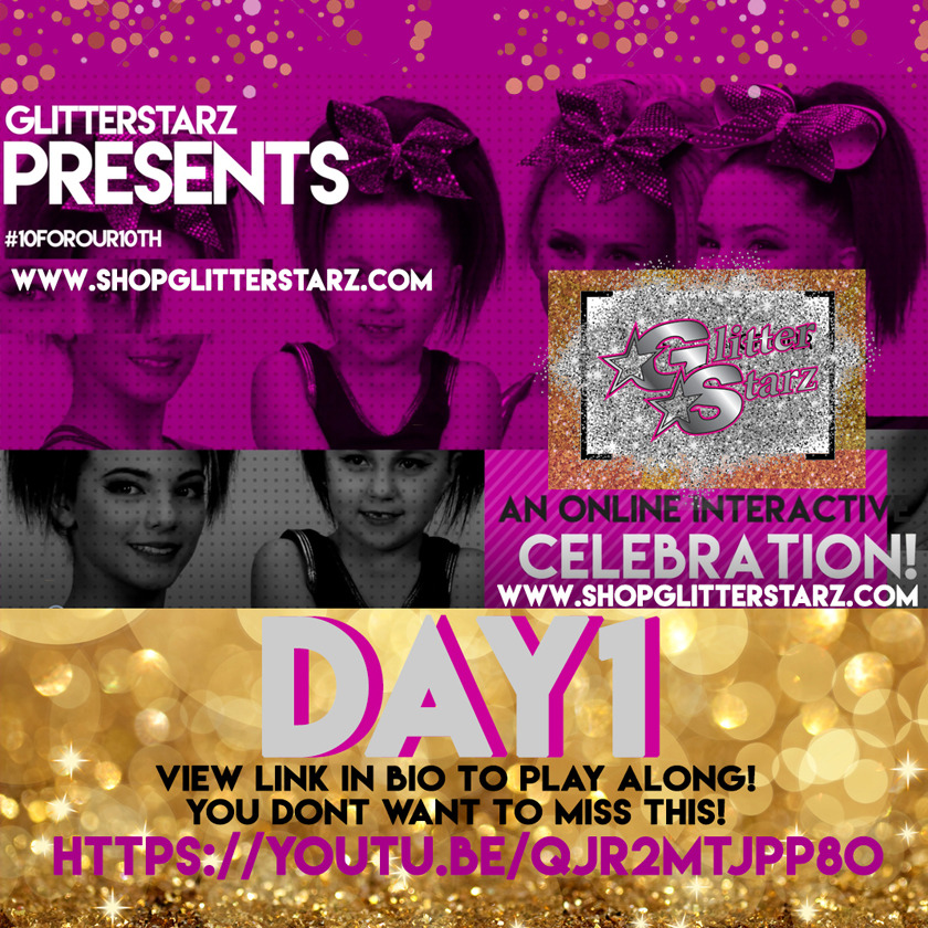 glitterstarz 10forour10th celebration