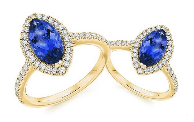 Buy sapphire and diamond engagement rings - Pobjoy Diamonds