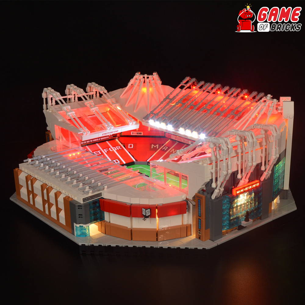 lego old trafford lights