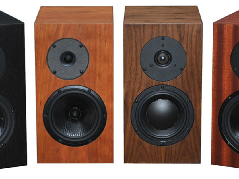FRITZSPEAKERS.COM CUSTOM SEAS EXCEL MONITORS MAGNESIUM MID BASS WITH SCANSPEAK OR RIBBON TWEETER