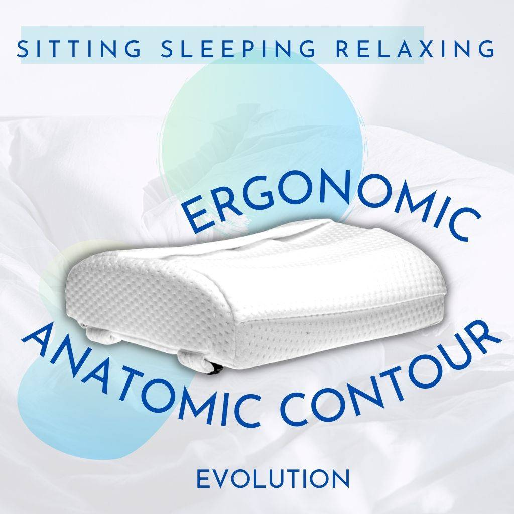 sitting sleeping relaxing ergonomic anatomic contour