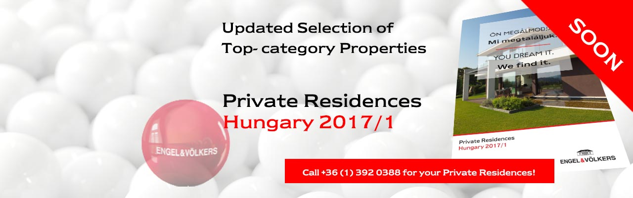 Real estate in Budapest - Private Residences Hungary 2017/1
