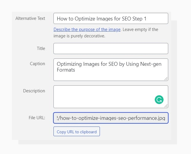 How to Name Images for SEO Using CMS Fields