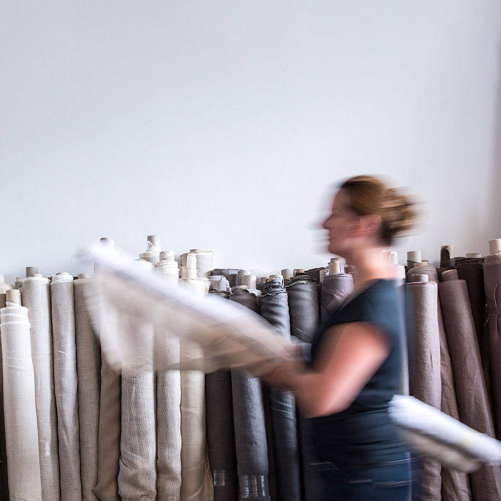 At House of AnLi Interiors, we are proud to work with a select team of craftsmen to provide made-to-order sofas, curtains, cushions, upholstery, and other high quality soft furnishing articles using beautiful 100% Made in Belgium linen from Libeco. Visit us at Tanglin Mall, Singapore or book an appointment here.