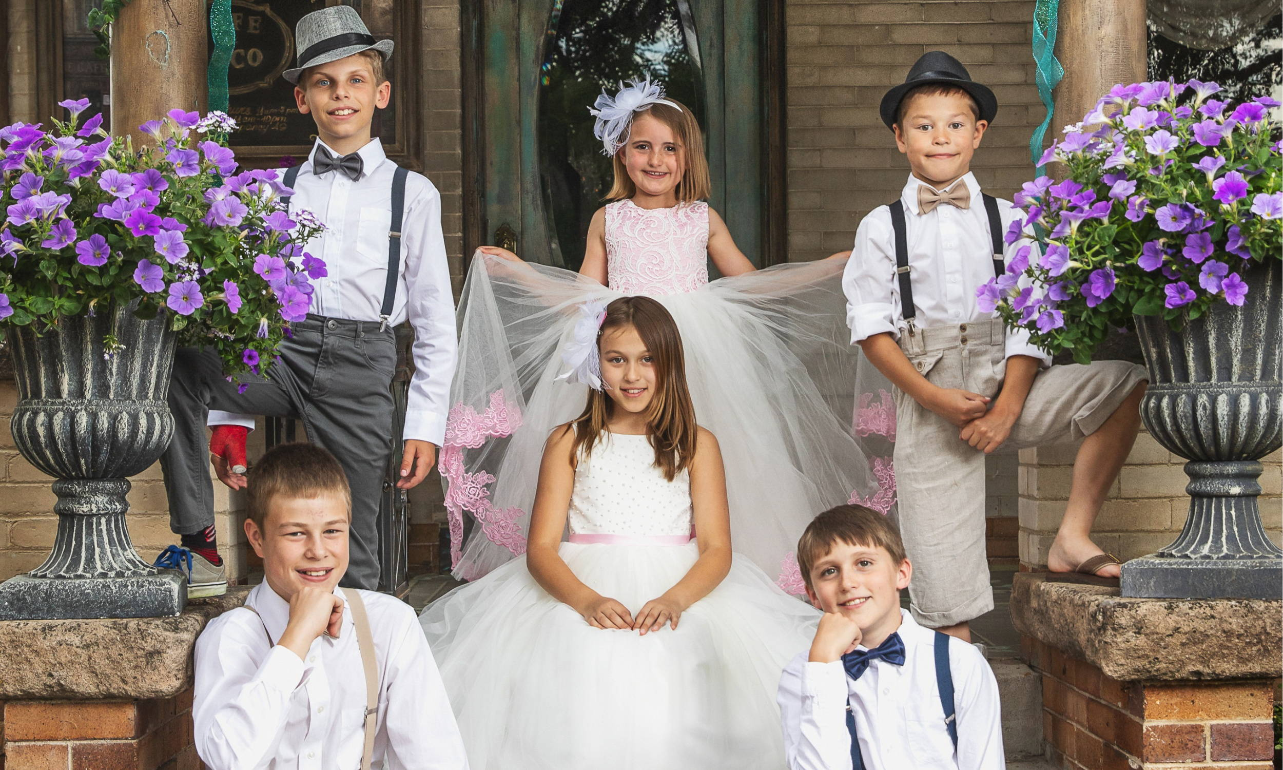 Ring Bearers & Flower Girls in a Wedding