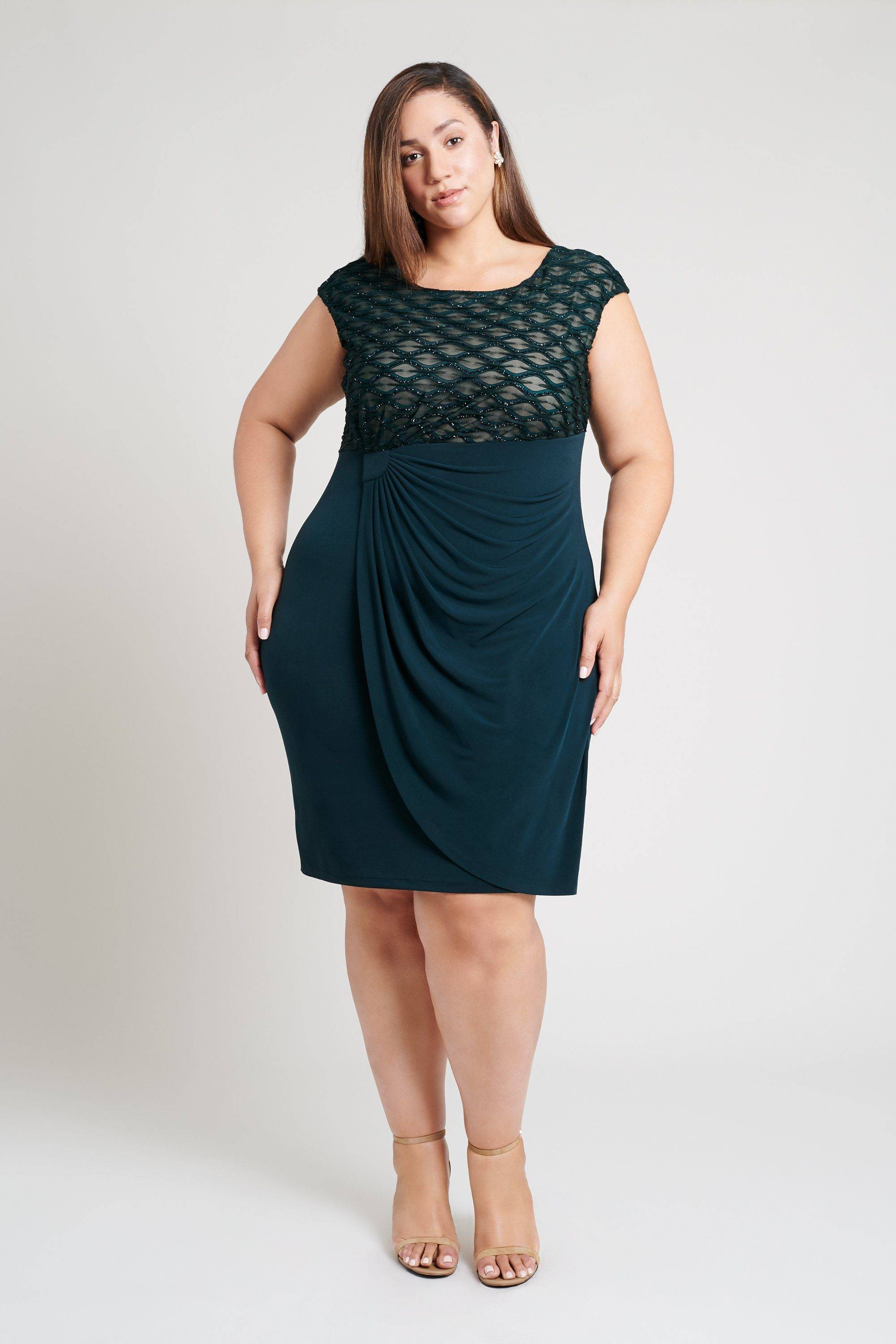 metallic-lace-dress-formal-special-occasion-plus-size-teal-womens-connected-apparel