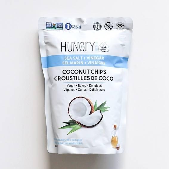 hungry buddha croustilles coco chips sel marin vinaigre