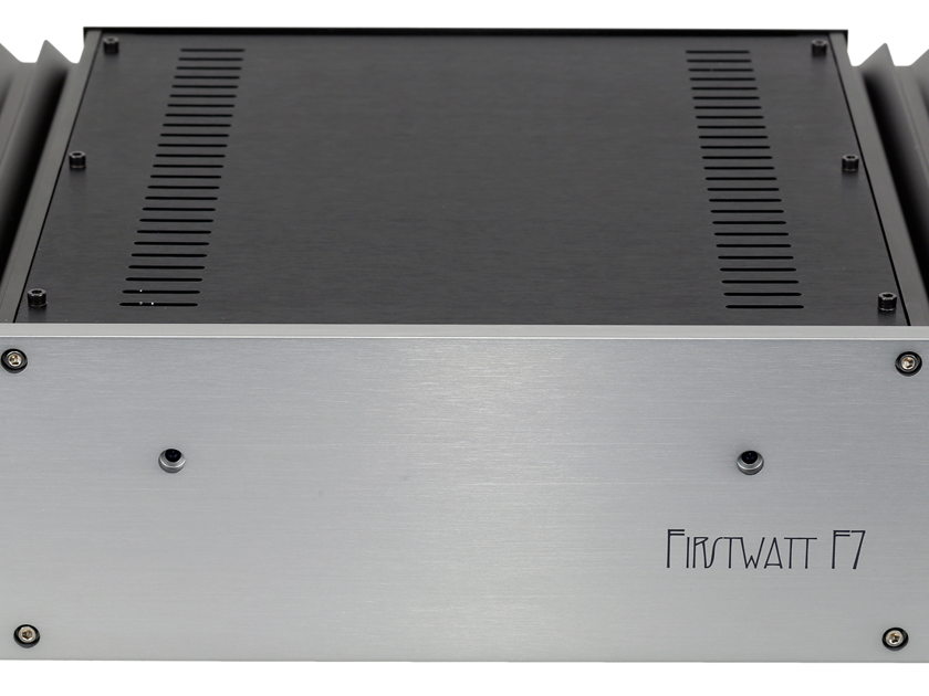FIRST WATT / PASS LABS F7 Stereo Power Amp 120V NEW model from First Watt