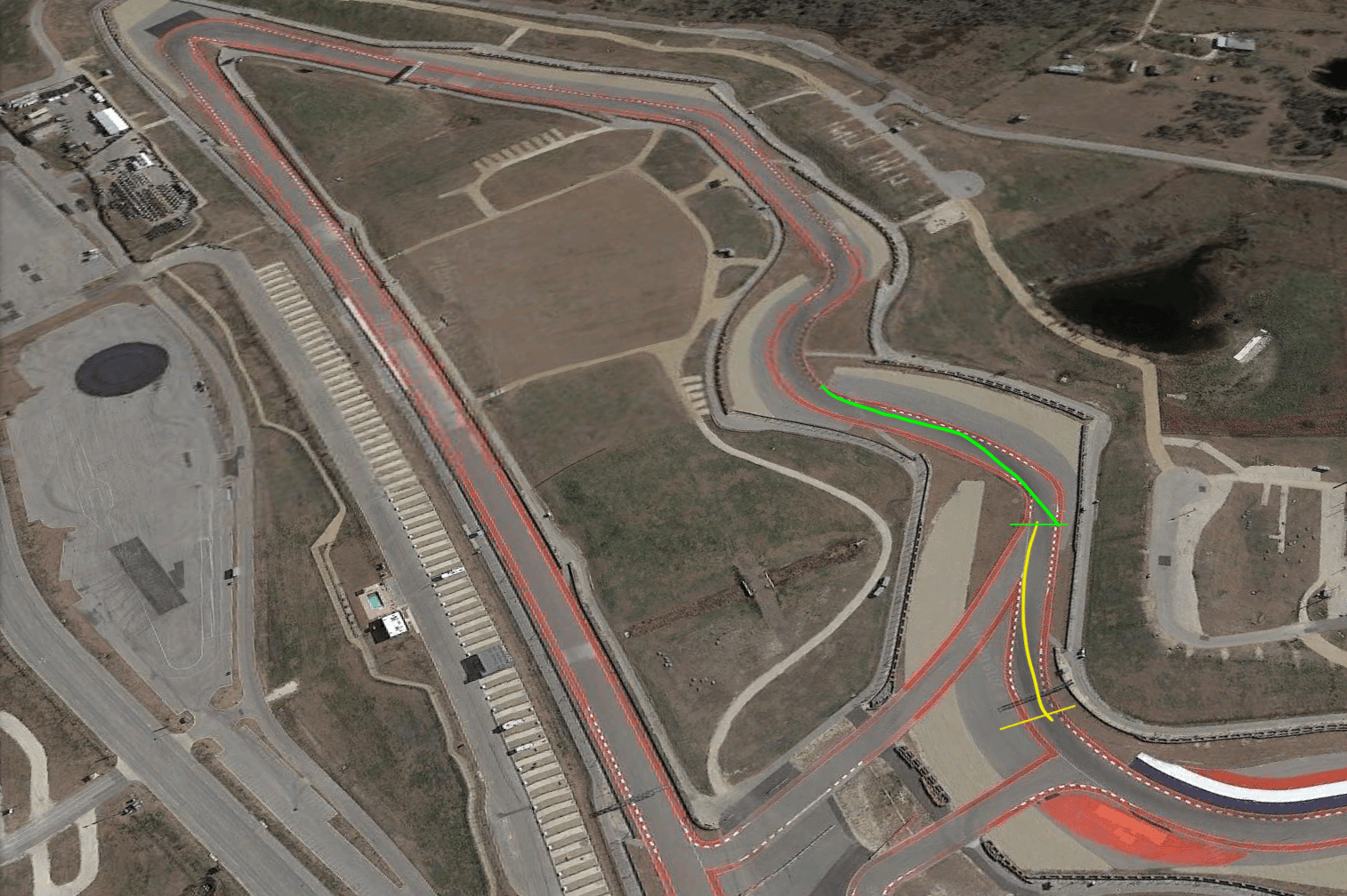 turn 6 and 7 at COTA
