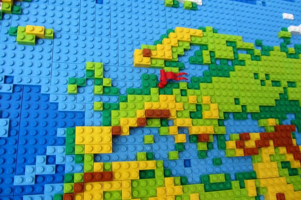 europe lego map