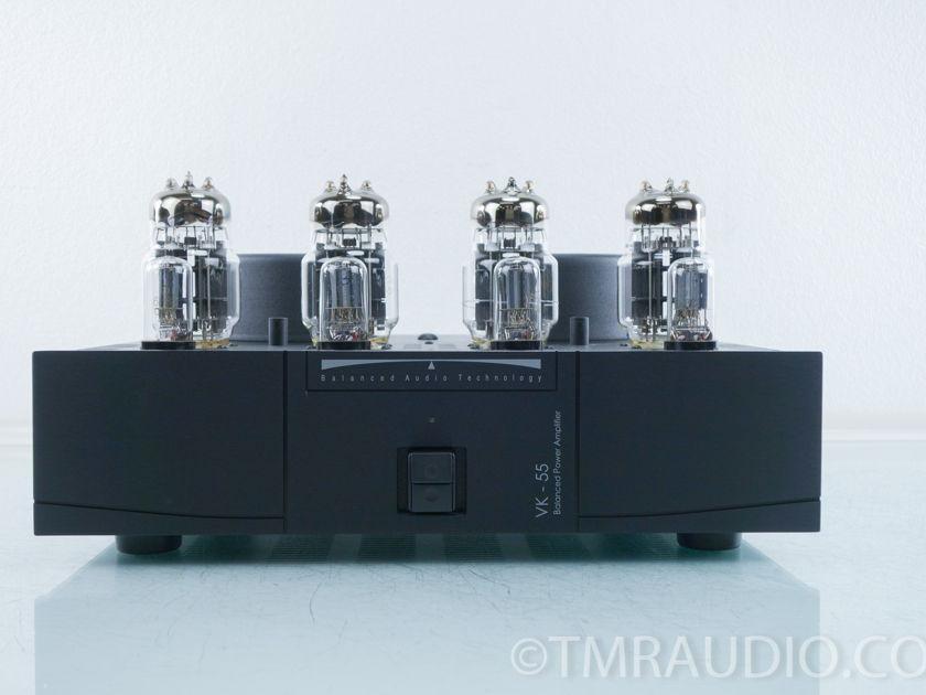 Balanced Audio Technologies VK-55 Tube Power Amplifier (9886)