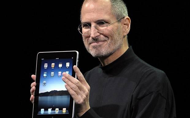 Steve Jobs Introducing the iPad in 2010