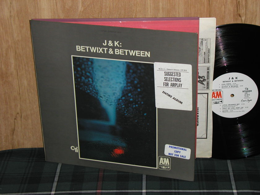 J.J. Johnson/Kai Winding - J&K Betwixt &Between A&M White Label Promo SP-3016 from 1969 VAN GELDER