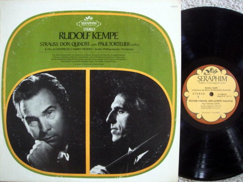 EMI Angel Seraphim / KEMPE-TORTELIER, - R. Strauss Don Quixote,  NM!