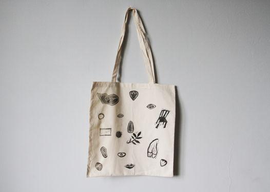 """Холщовая сумка-шоппер """"Линогравюра"""""""