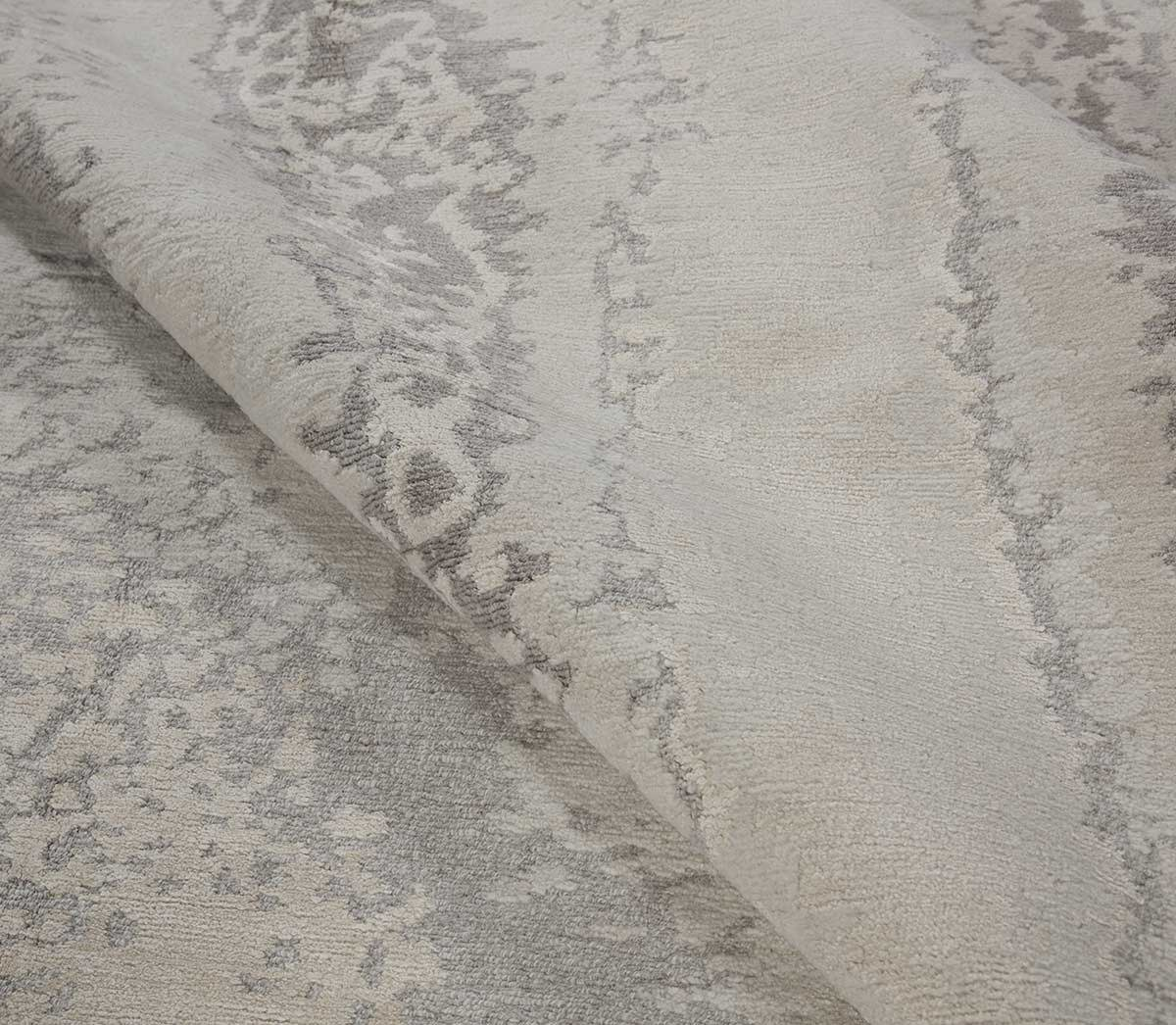 Shoreline Oatmeal sample is a organic style hand knotted rug by Tufenkian