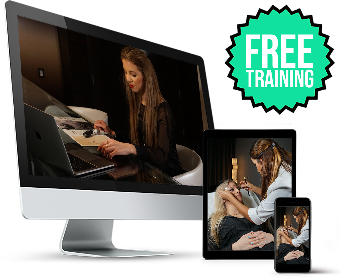 permanent makeup online microblading training