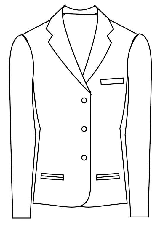 TailorMate   Enkeltradet med tre knapper