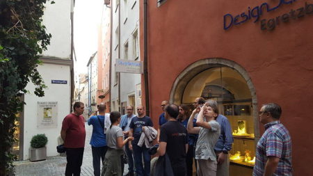 Exploring Regensburg