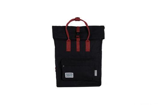 Черный рюкзак rolltop