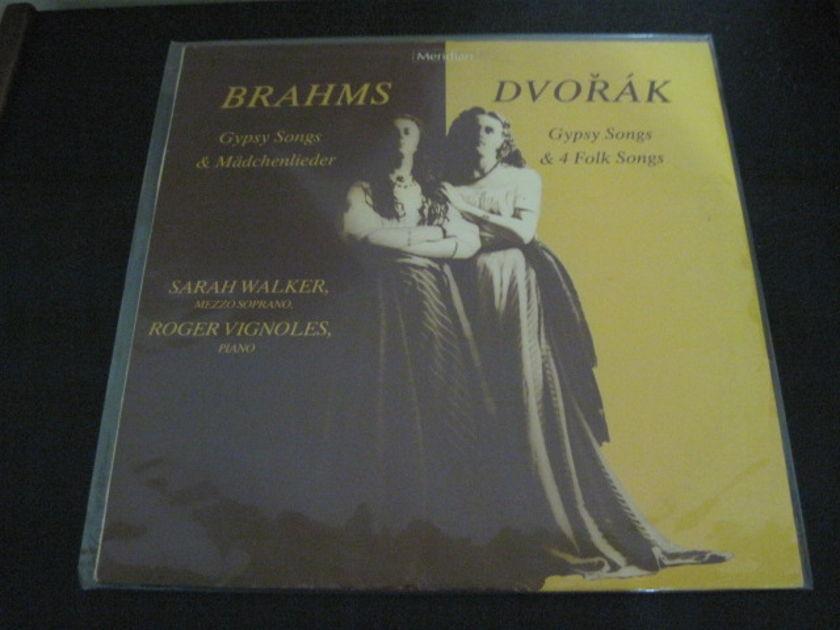 "SARAH WALKER/ROGER VIGNOLES - ""Brahms/Dvorak Gypsy Songs"" E 77042  LP/Vinyl"
