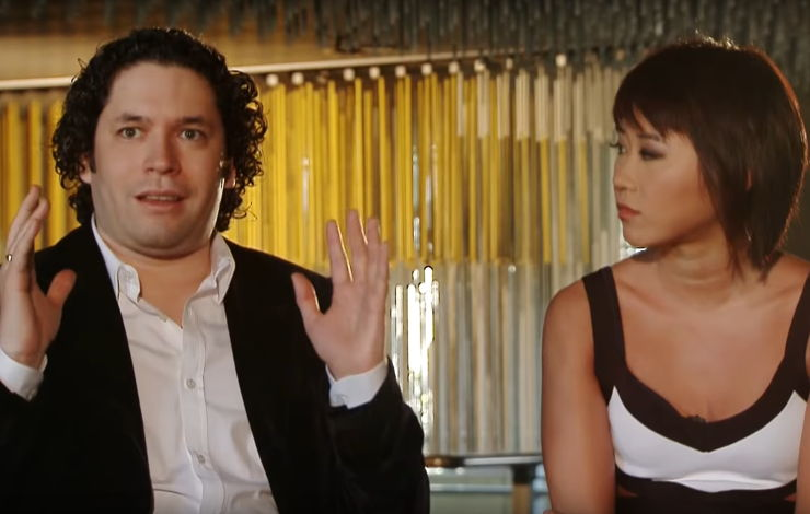 Gustavo Dudamel & Yuja Wang Conduct Adam's Piano Concert | Hollywood