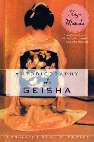 Autobiography of a geisha by Sayo Masuda  book cover