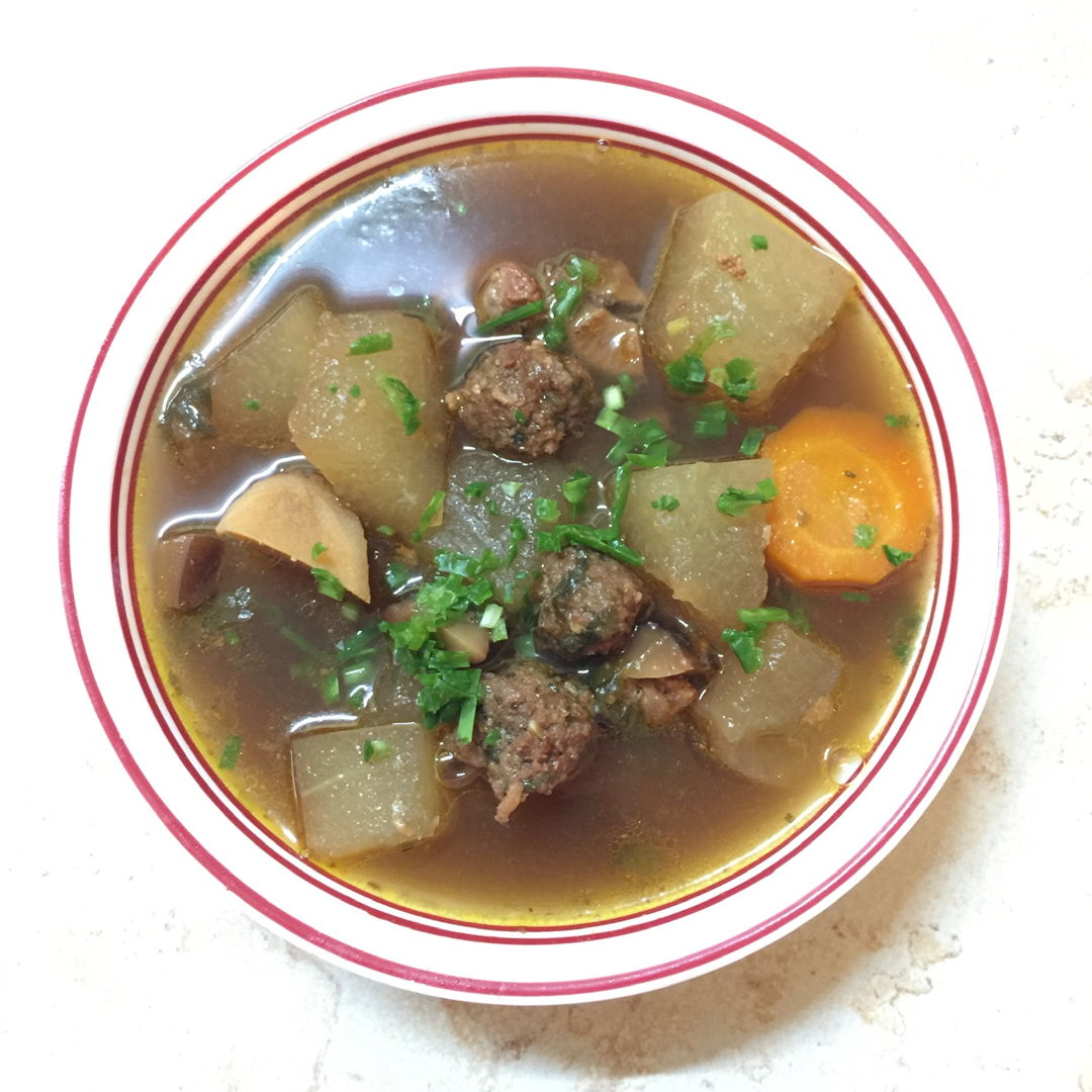 Winter Melon Soup. I'll definitely make this soup again.