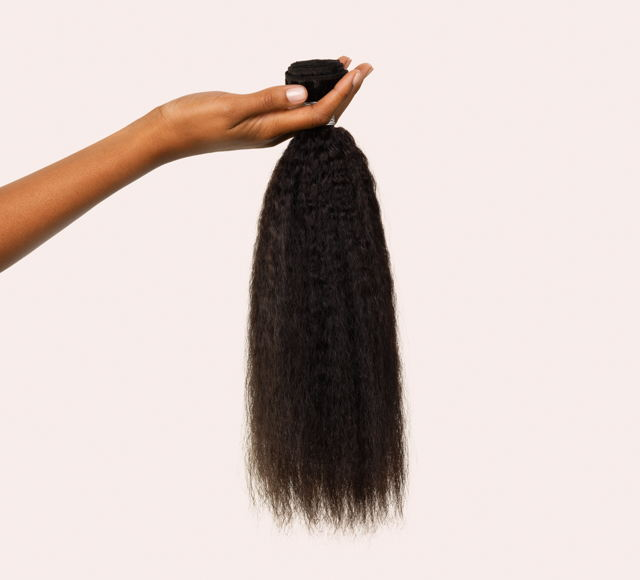 Kinky Straight Natural Black Bundles Mayvenn