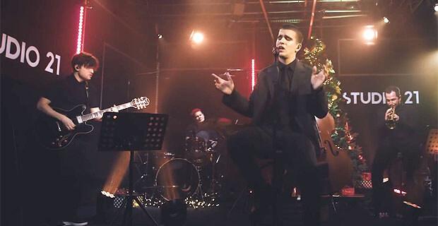 Feduk выступил с новогодним сетом на STUDIO 21 - Новости радио OnAir.ru