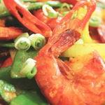 Sauteed Turmeric Shrimps