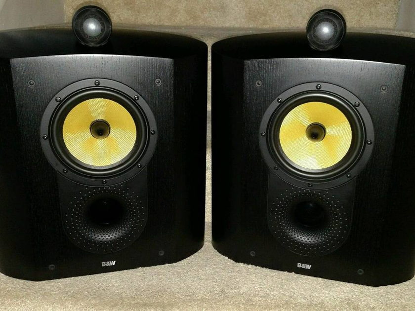 Bowers & Wilkens (B&W)  SCM1 speakers (Pair) Black Ash Finish Pristine Condition $1300