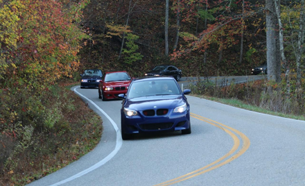 River City Bimmers Tail of the Dragon Autumn Drive