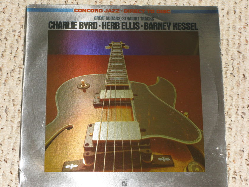 Charlie Byrd, Herb Ellis, Barney Kessel - Great Guitars/Straight Tracks Concord Jazz Direct to Disk