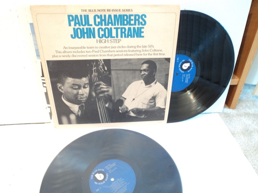 Paul Chambers John Coltrane - High Step Blue Note series (2) Lps