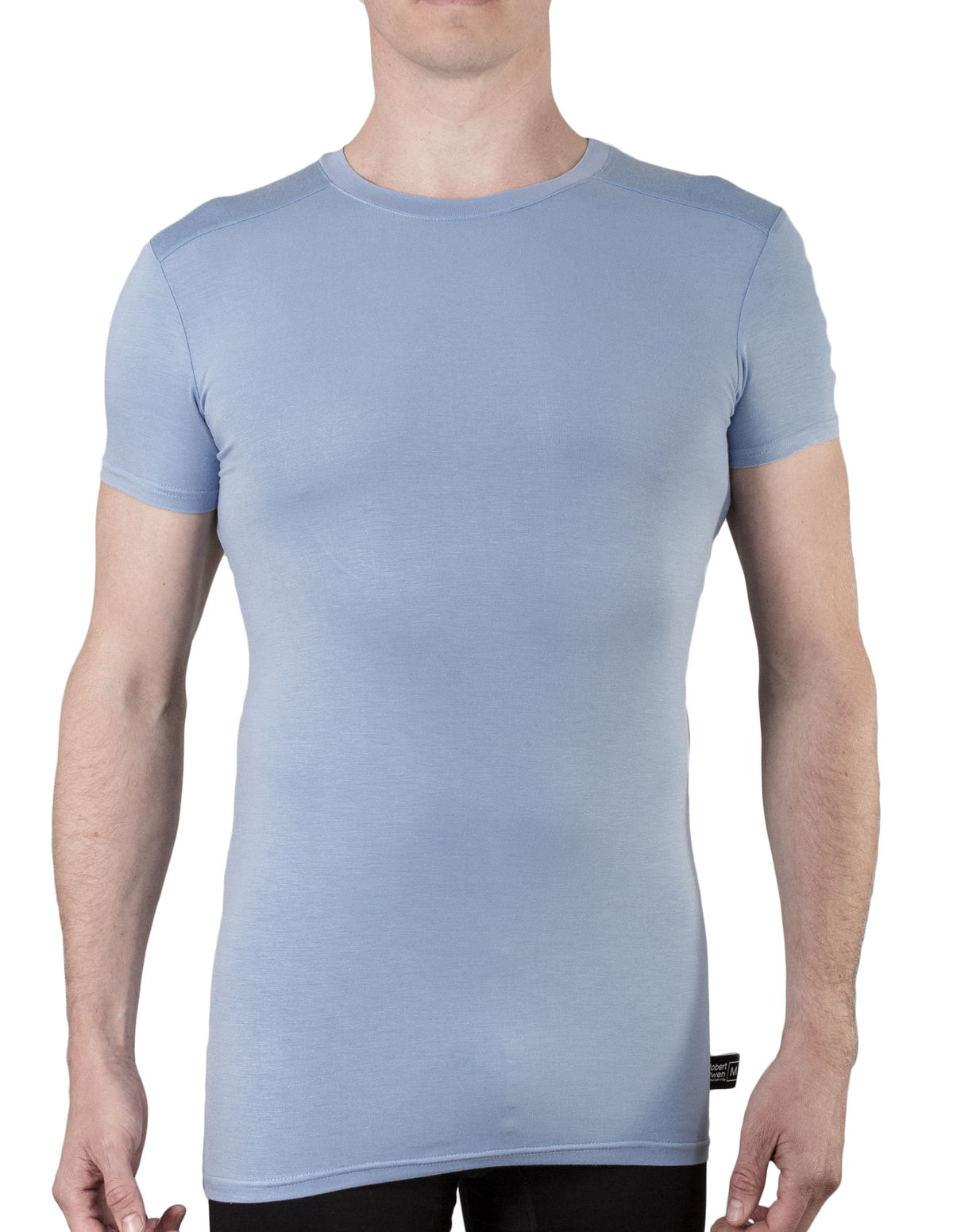mens crew neck bamboo undershirt