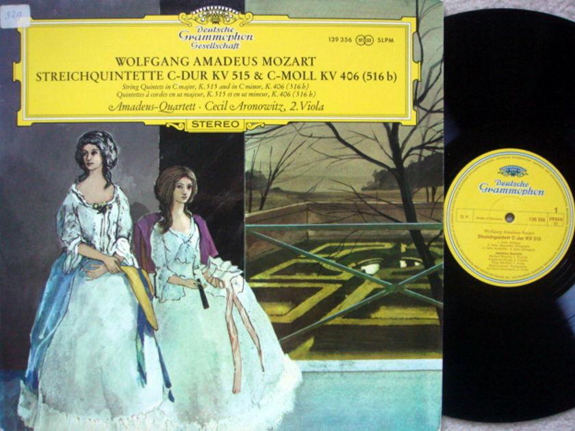 DGG / AMADEUS QT, - Mozart String Qunitets KV.515 & 406, NM!