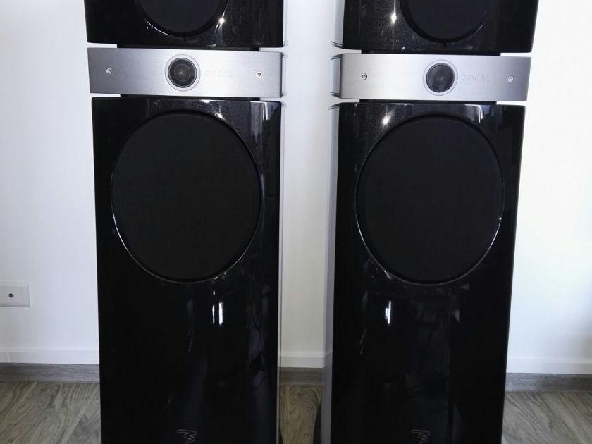 Focal Scala V2 FloorStand Speakers white colour