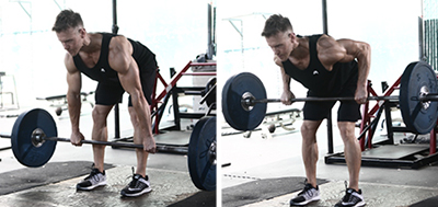 Barbell Bent-Over-Rows